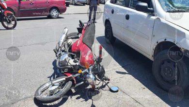 Photo of Choque de moto en Madero Poniente deja un joven lesionado