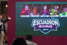 Photo of Presentan al nuevo Escuadrón de la Salud, las aliadas de Susana Distancia