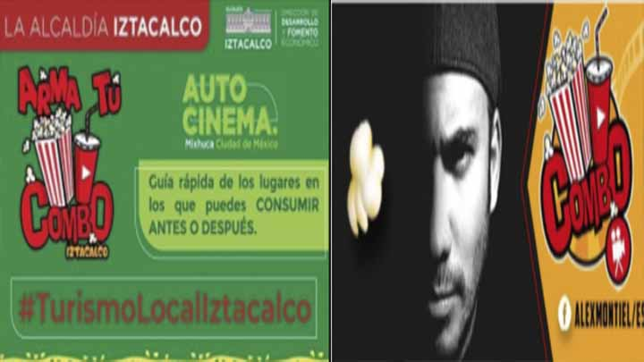 La Alcaldía de Iztacalco plagia logo de Alex Montiel