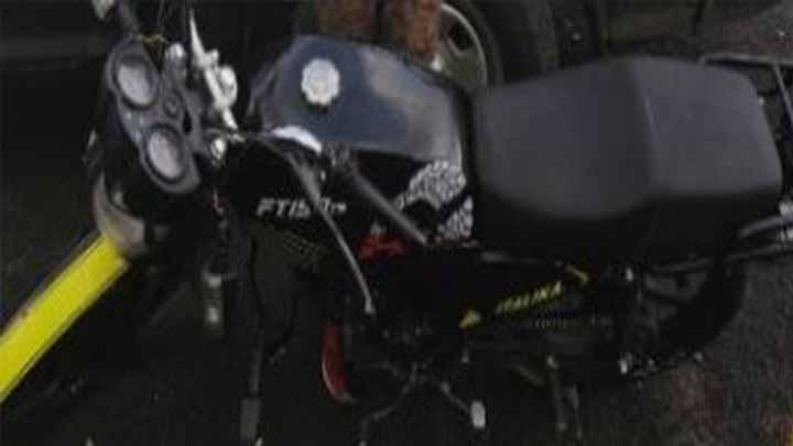 Asegura SSP a un hombre en posesión de vehículo con los medios de identificación alterados