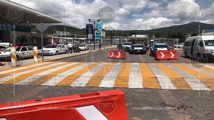 Muere fémina en la Terminal de Autobuses de Morelia