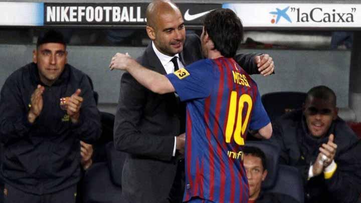 Messi se reunirá con Guardiola quien ya se encuentra en Barcelona