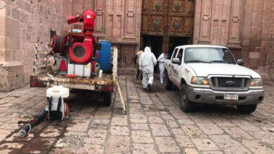 Photo of Trabajos de sanitización en Catedral; luego de que un empleado diera positivo a covid-19