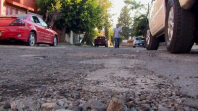 Photo of Gran problema de baches en las calles de Xangari