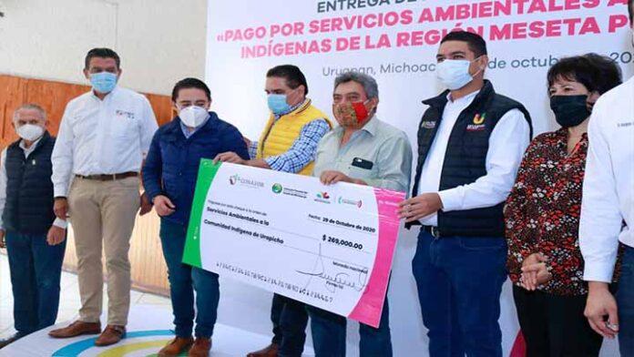 Uruapan, único de Michoacán que destina recursos al pago de servicios ambientales