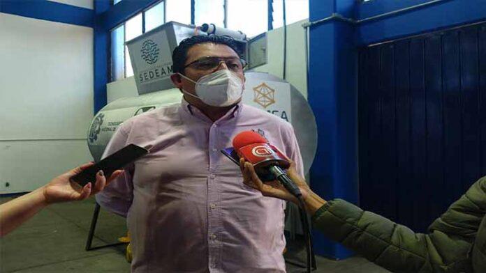 Ingenieros morelianos realizan cámara de ozono para desinfectar residuos de Covid-19
