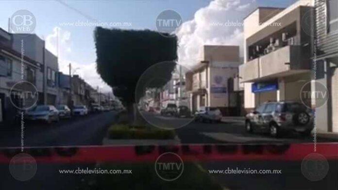 Ahora el ejecutado fue en la Morelos