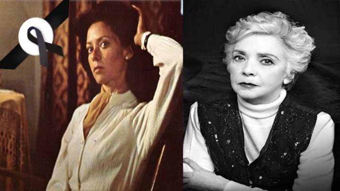 Muere a los 83 años de edad la primera actriz Martha Navarro