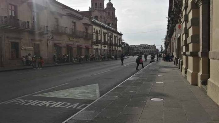 Se esperan temperaturas mínimas de 7 grados en Morelia