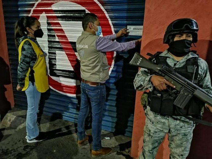 En Morelia siete establecimientos suspendidos por desobedientes