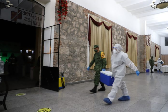 Llegarían a Michoacan tres mil 900 vacunas contra Covid-19