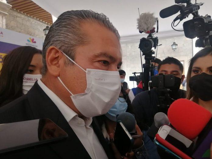 Y la bomba cayó por la tarde en Michoacán