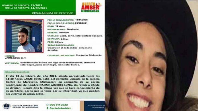 Reportan la desaparición de dos menores en Maravatío