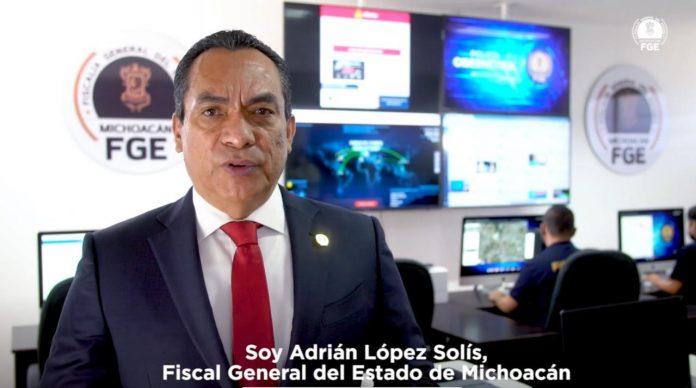Presenta Fiscal 2º Informe de actividades de manera virtual