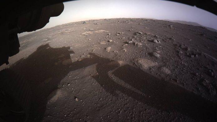 Nasa revela imágenes de la llegada al planeta rojo