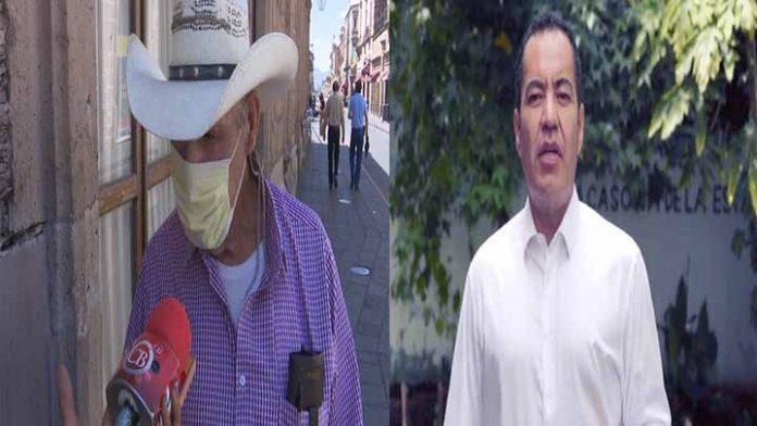 Ciudadanos en contra de la candidatura de Carlos Herrera Tello
