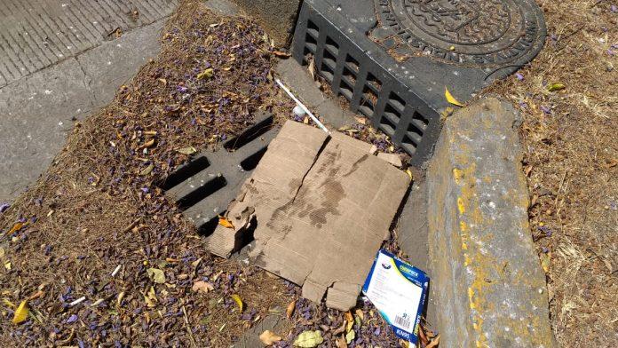 Alcantarillas tapadas causarán inundaciones en Morelia por acumulación de basura y ramas