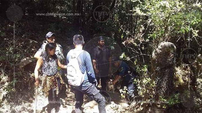 Localizan a los dos jóvenes extraviados en el cerro del Cacique de Zitácuaro