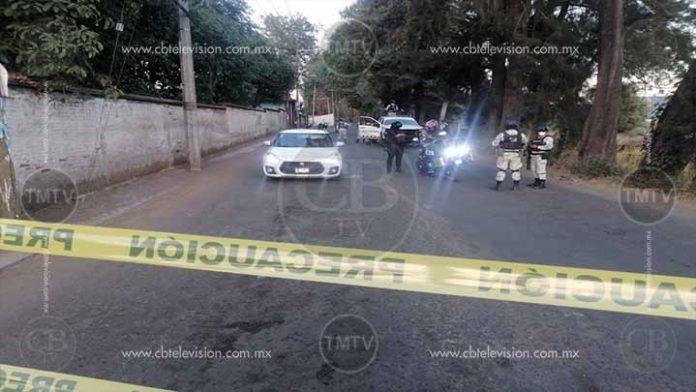 Lo ejecutan cuando viajaba en su auto por calles de Uruapan