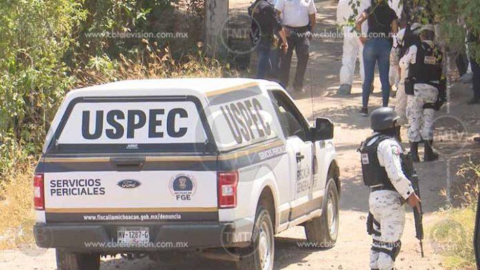 Lo ejecutan en la calzada Benito Juárez de Uruapan