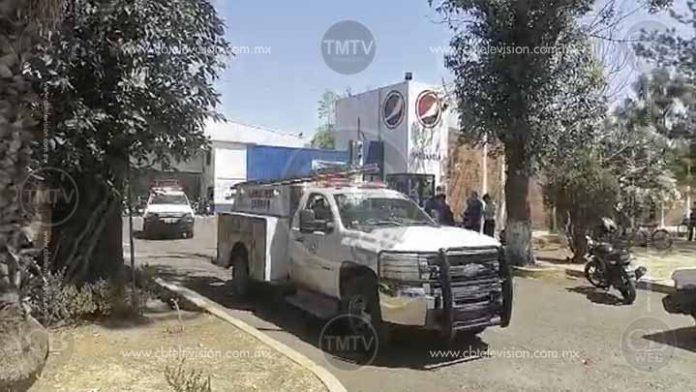 Explotan tanques de gas en la Pepsi de Zamora