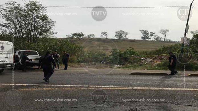 Localizan descuartizado en la periferia de Jacona
