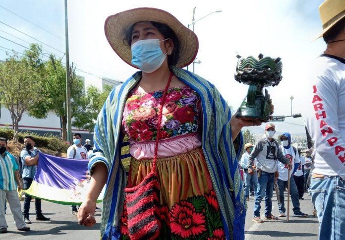 Del total de mujeres que denuncian violencia de género, el 2% pertenecen a comunidades indígenas