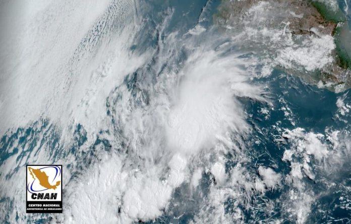 Se forma en costas michoacanas Tormenta Tropical Andrés
