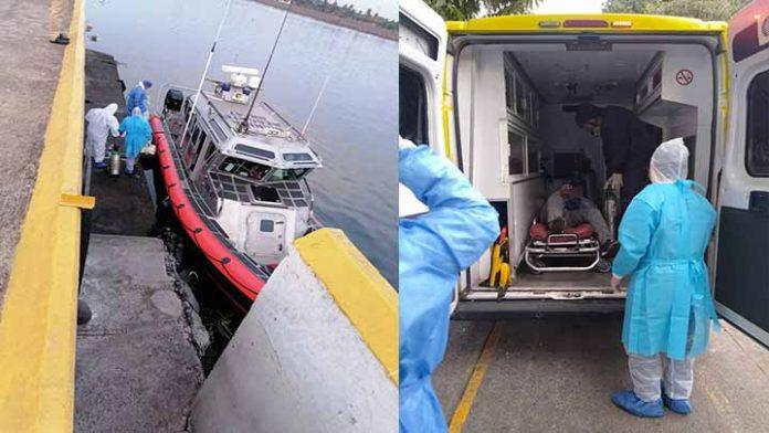 Detectan a Filipino con Covid-19 en altamar; podría portar nueva cepa