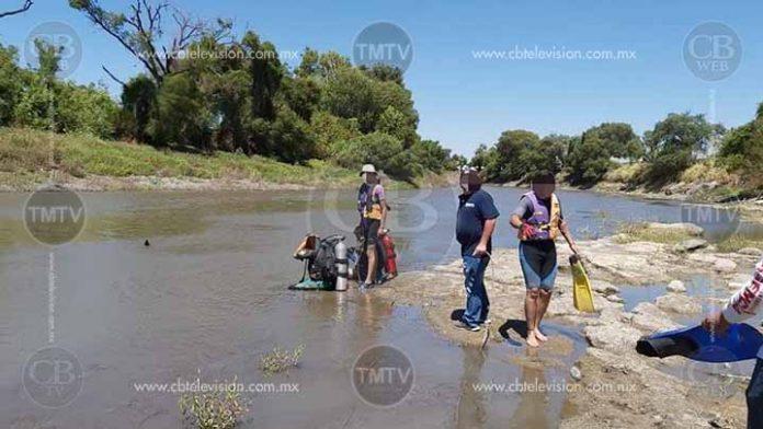 Se metió a nadar a una presa de Villa Jiménez y lo sacan muerto