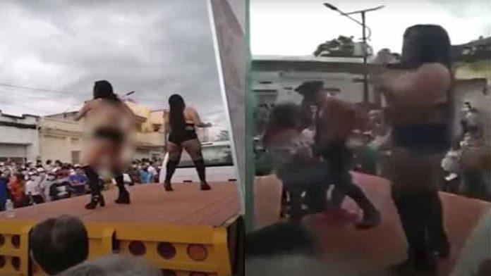 Piden cancelar campaña de Aarón Salazar por usar strippers en evento
