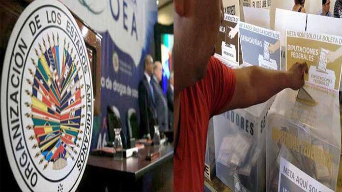 OEA observará las elecciones del 6 de junio en México
