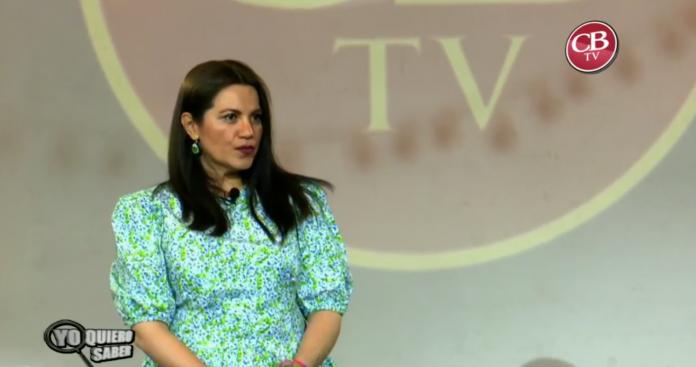 Silvia Tocaven, candidata por el Partido Verde, no sabe qué es el despojo territorial