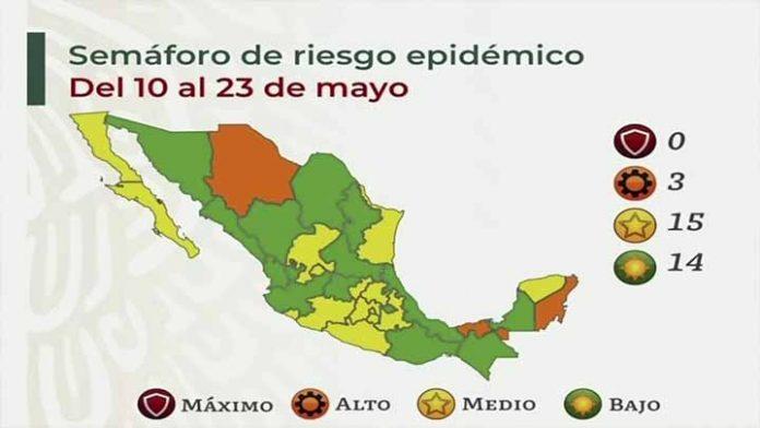 Justo cerca de las elecciones México se pinta de verde y amarillo