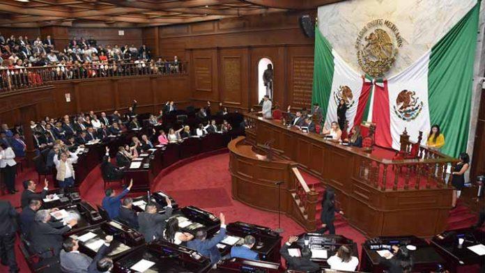 Listo el nuevo Congreso de Michoacán
