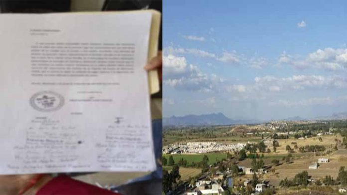 Abuelito denuncia a mujer por apropiarse de su terreno; pide apoyo