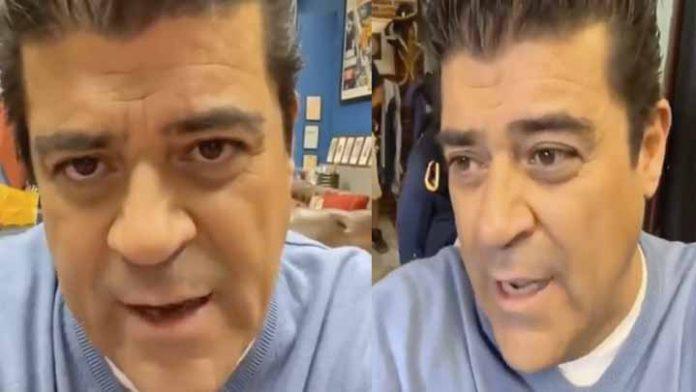 """Muere Sammy Pérez y """"El Burro"""" Van Rankin se le olvida cortar su video de condolencias, dejando entre ver que lo hizo por compromiso"""