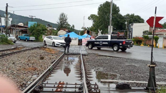 AIEMAC ha presentado dos denuncias ante la FGE por bloqueos en vías férreas en Caltzontzin