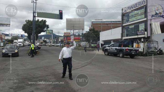 Libre la circulación en la salida a Quiroga y el periférico de Morelia