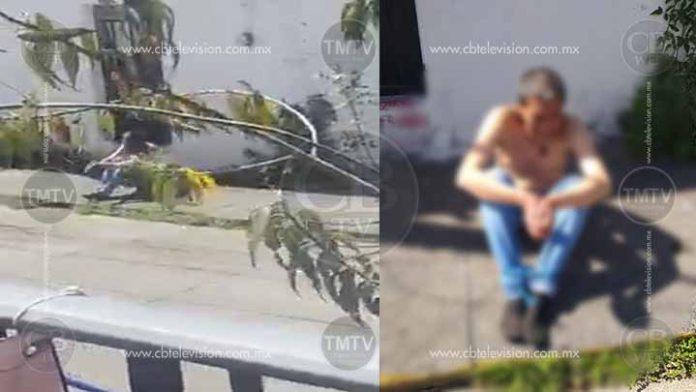 Encuentran hombre con pies y manos atadas en Morelia, habrían secuestrado a su familia
