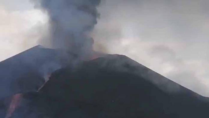 No hay para cuándo, volcán de La Palma se mantendrá en erupción