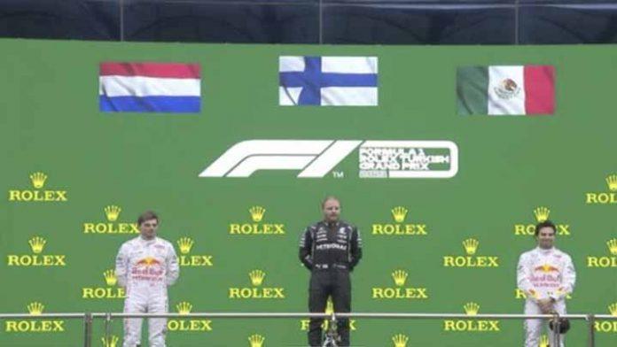 Otro podio para Checo Pérez, obtiene el tercer puesto en el GP de Turquía